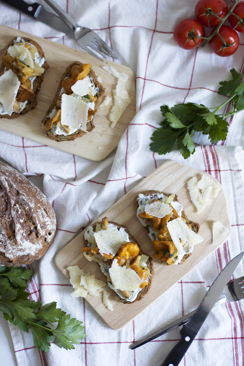 Bauerntoast mit Eierschwammerl |we love handmade