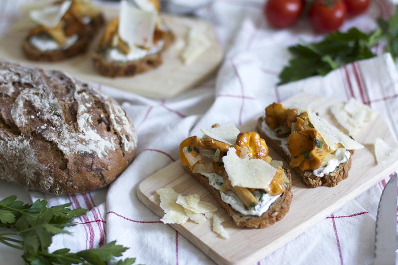 eierschwammerl-Bauerntoast |we love handmade