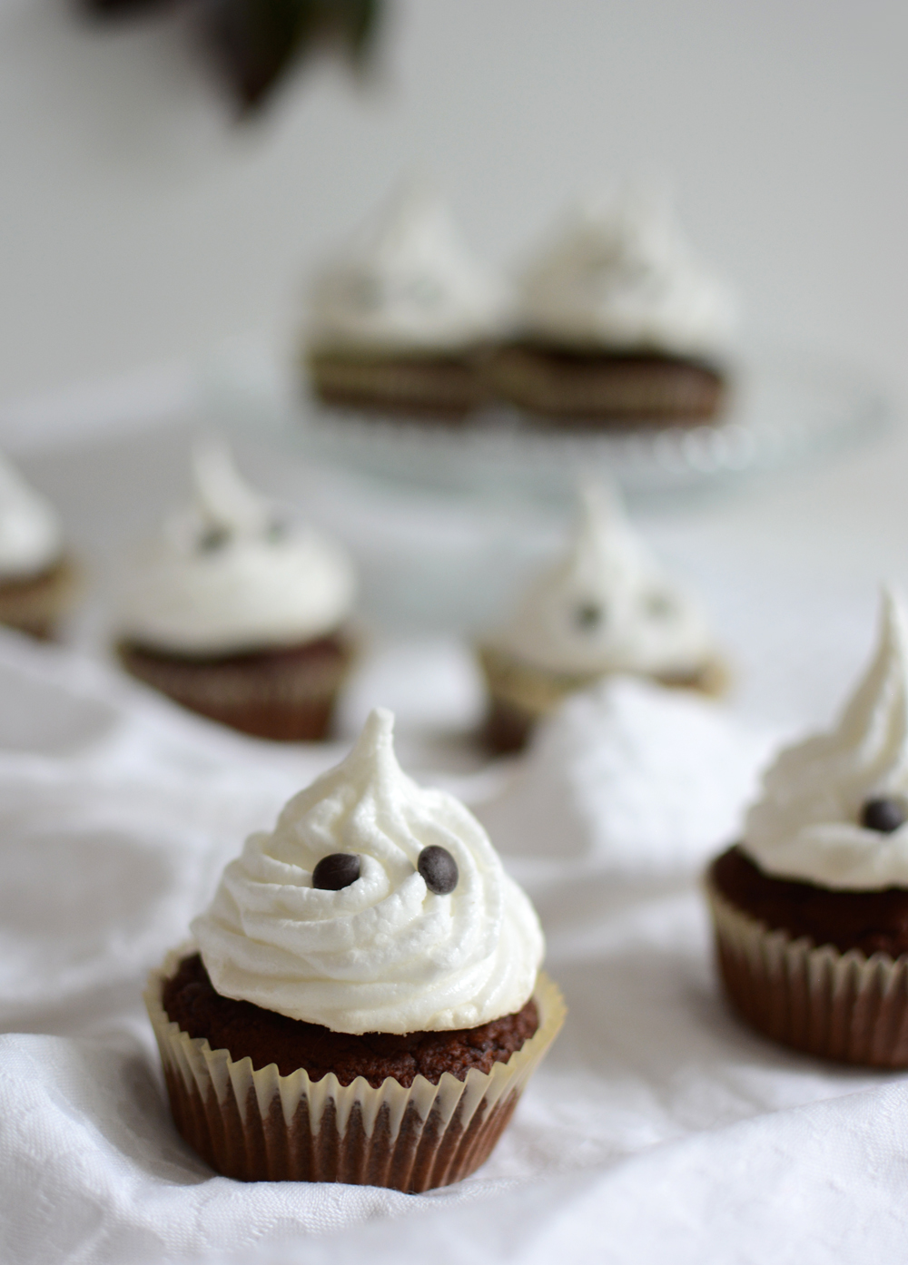 Geister-Cupcakes Rezept | welovehandmade