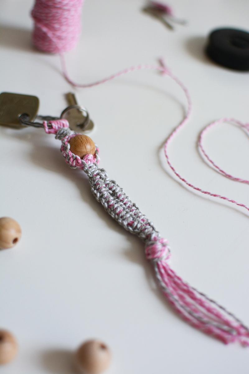 Makramee-Schlüsselanhänger |we love handmade