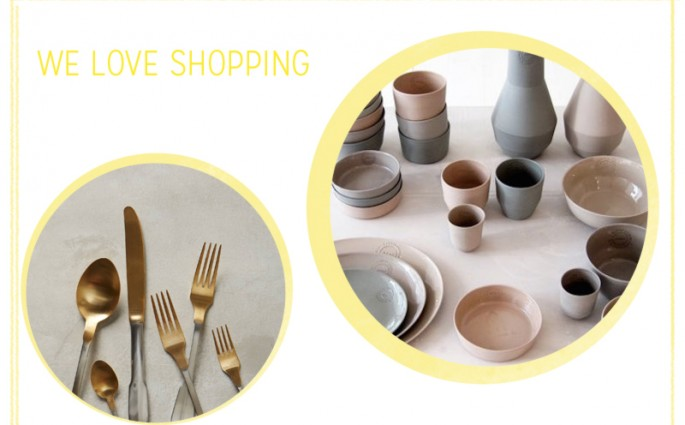 we love shopping tableware