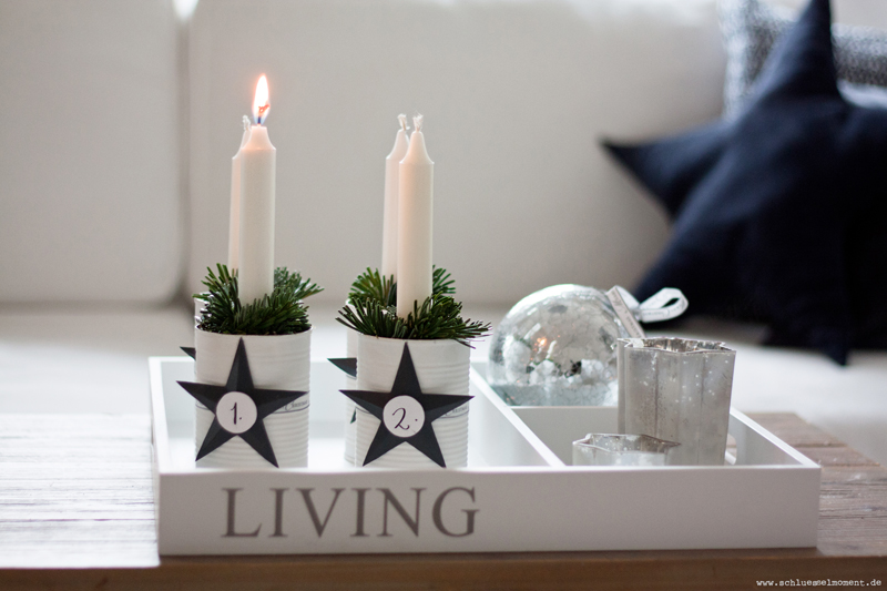 Adventskranz-DIYs | we love handmade