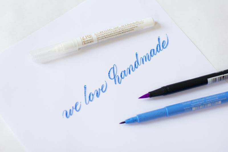 Kalligraphie Teil 3: Stifte | we love handmade