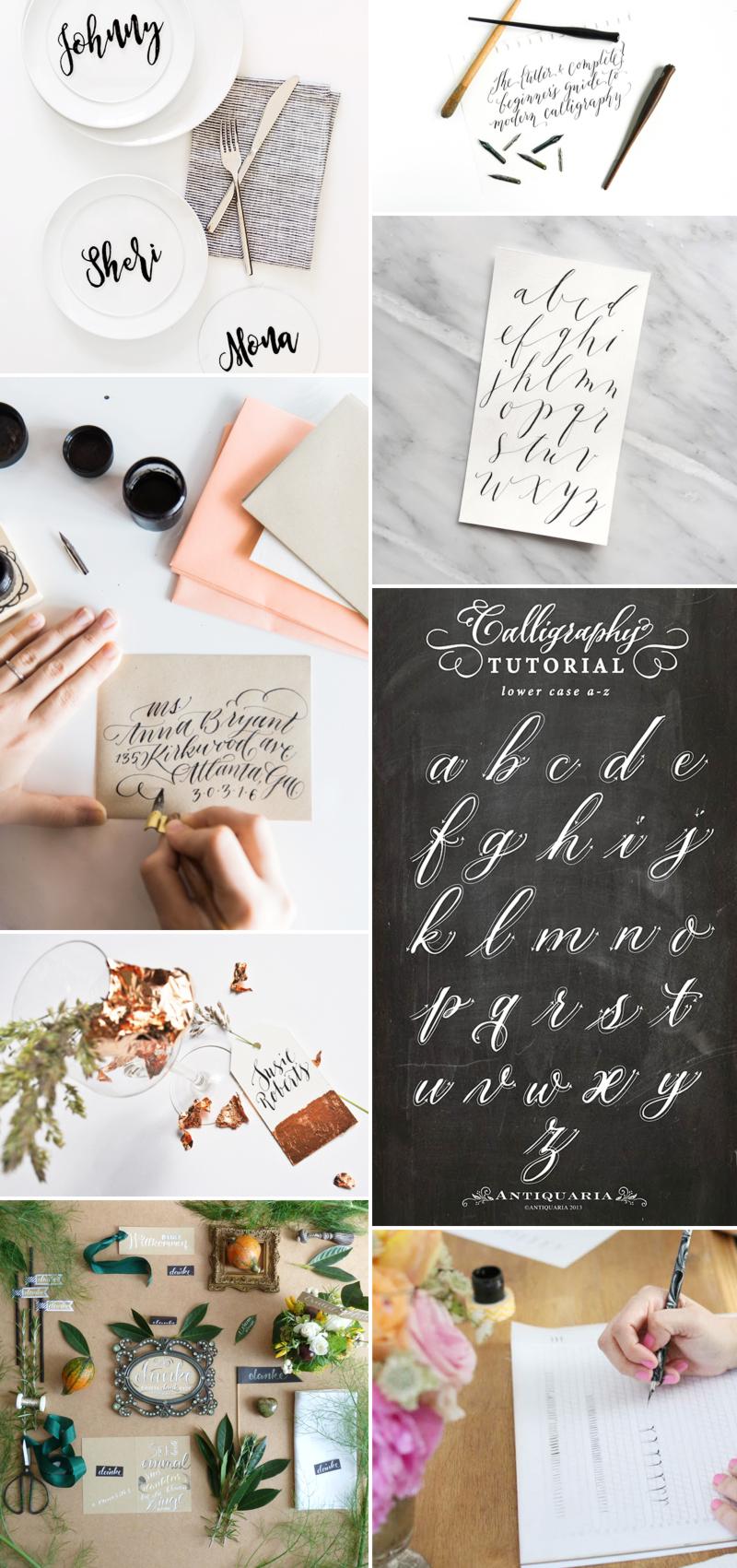 we love Inspiration: Kalligraphie | we love handmade