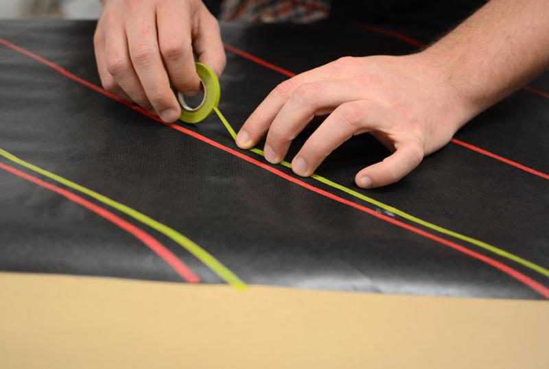 Geschenkpapier mit Washi Tape |we love handmade