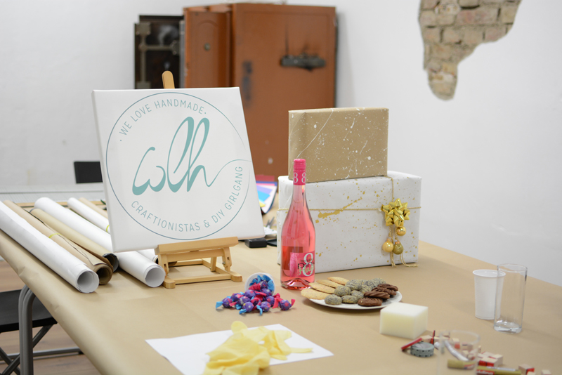 Geschenkpapier-Workshop | we love handmade