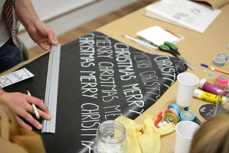 Geschenkpapier beschreiben |we love handmade