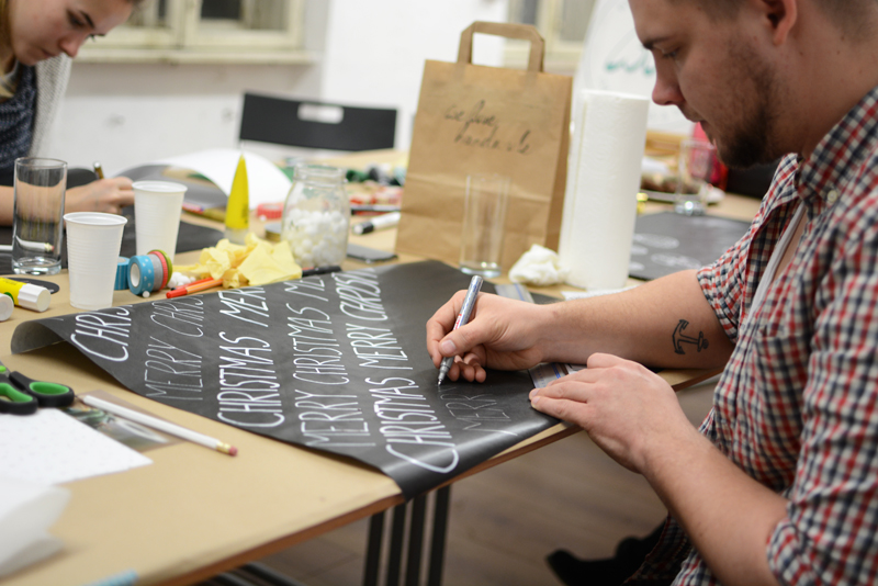 Geschenkpapier bemalen |we love handmade