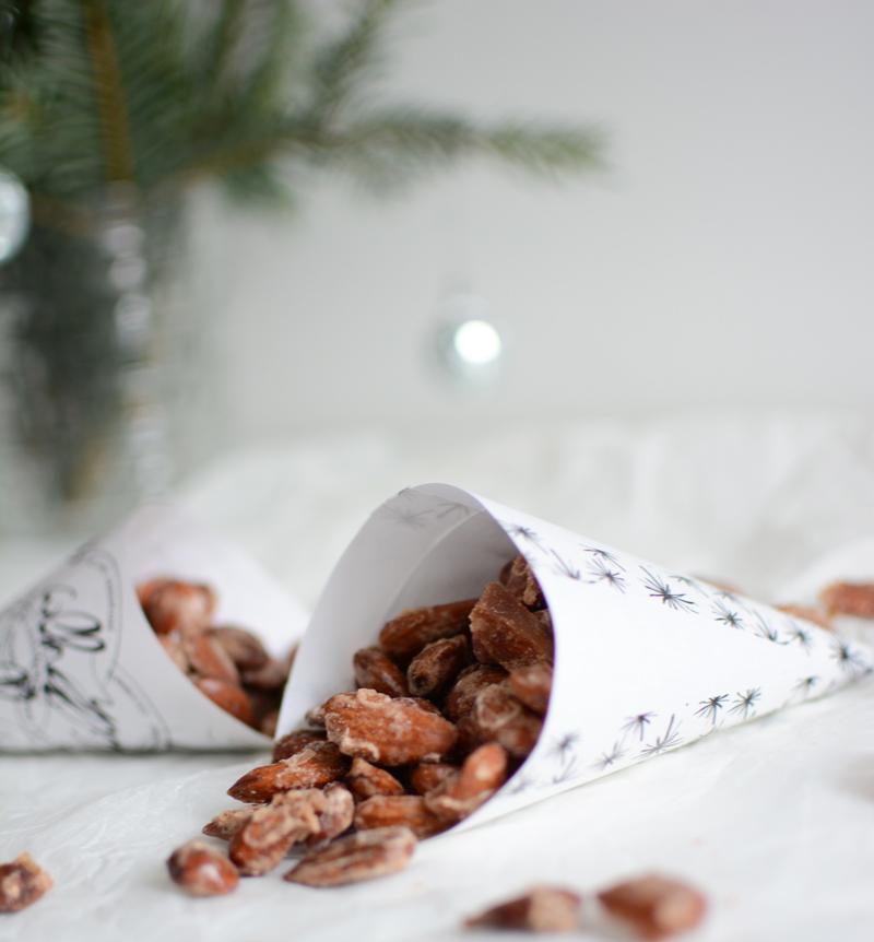 Geschenk aus der Küche: gebrannte Mandeln |we love handmade
