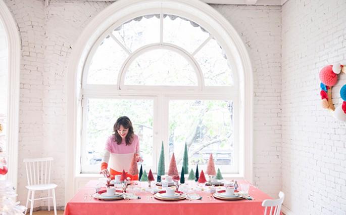 Tolle Inspirationen für weihnachtliche Tischdekorationen | we love handmade