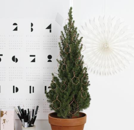 DIY: Baumschmuck aus Draht
