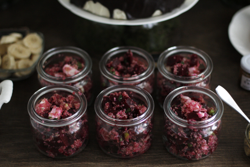 Birthday-Table: Rote-Rüben-Quinoa-Salat | we love handmade