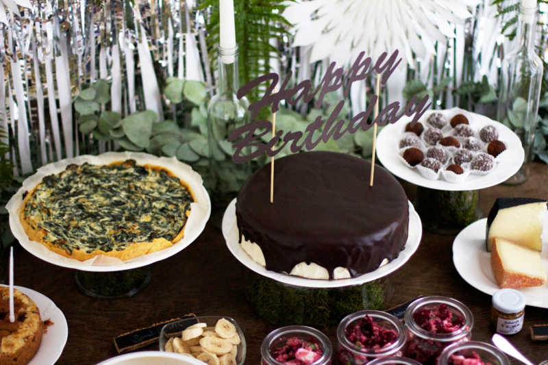 Birthday-Table: DIYs und Rezepte | we love handmade
