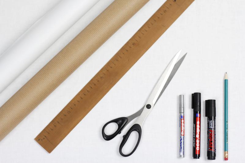 DIY: Geschenkpapier beschreiben | we love handmade