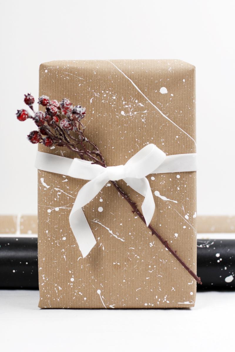 DIY: Geschenkpapier | we love handmade