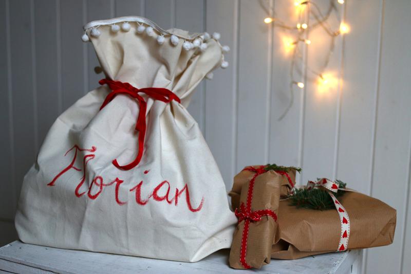 weihnachtssack | Geschenke | welovehandmade