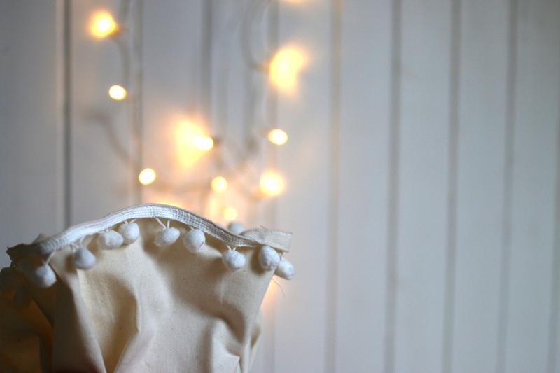 weihnachtssack | saum | welovehandmade