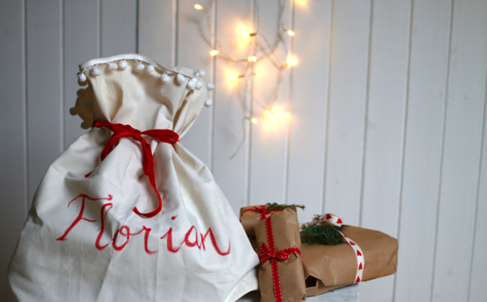 weihnachtssack | welovehandmade