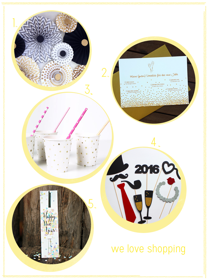 we love shopping: Silvesterparty | we love handmade