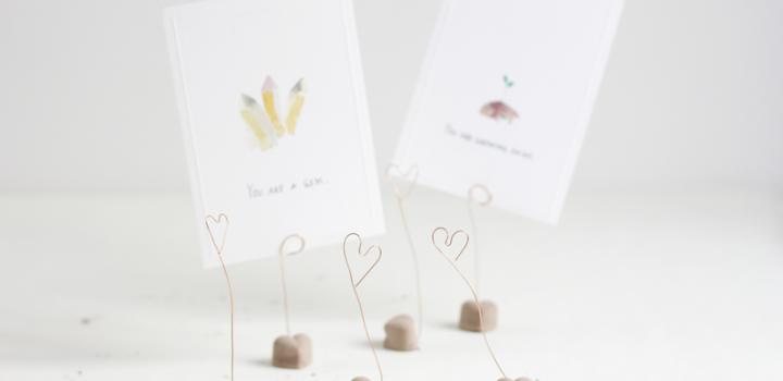 DIY: Zement-Herzen für den Valentinstag