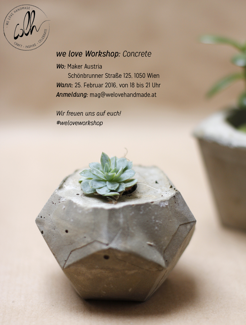 Concrete-Workshop-Flyer | we love handmade