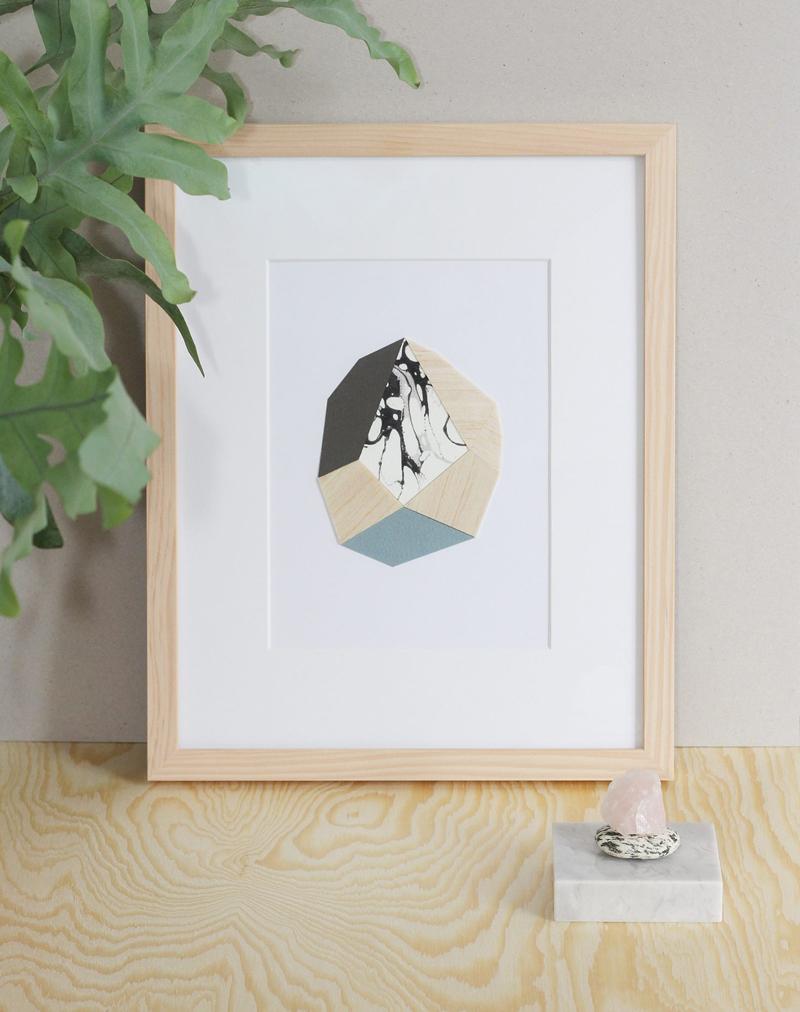 Foto von Falz und Vorsatz. Artwork |we love handmade