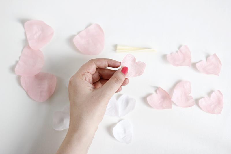 DIY: Papierblumen-Herz - we love handmade