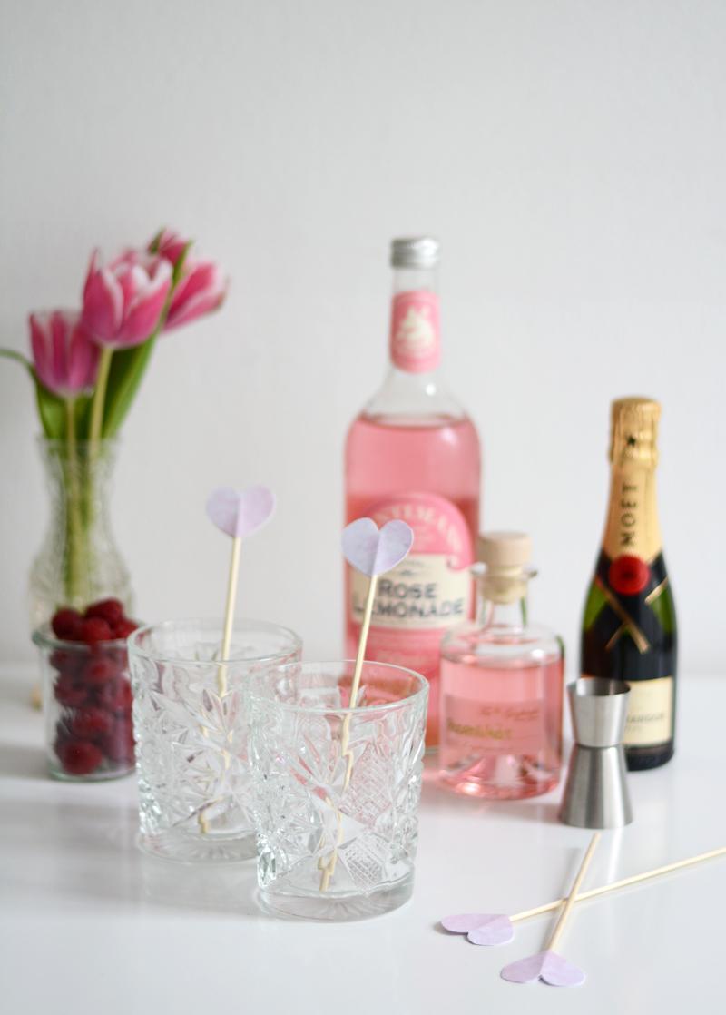 Valentinstag-Drink Zutaten |welovehandmade