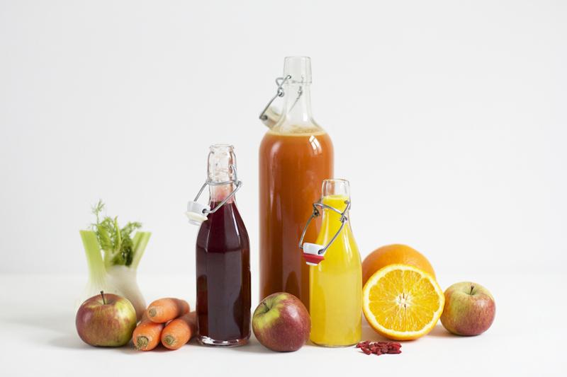 Drinks: Detox Säfte mit Obst- und Gemüse | we love handmade