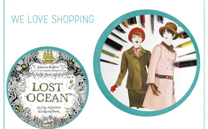 we love shopping Ausmalbücher für Erwachsene | we love handmade