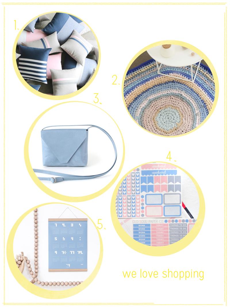 Trendfarbe Serenity |we love handmade
