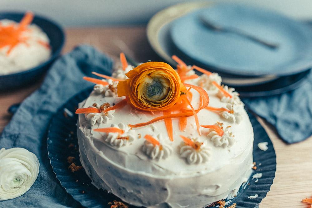 Gastbloggerrezept: Karottenkuchen |we love handmade