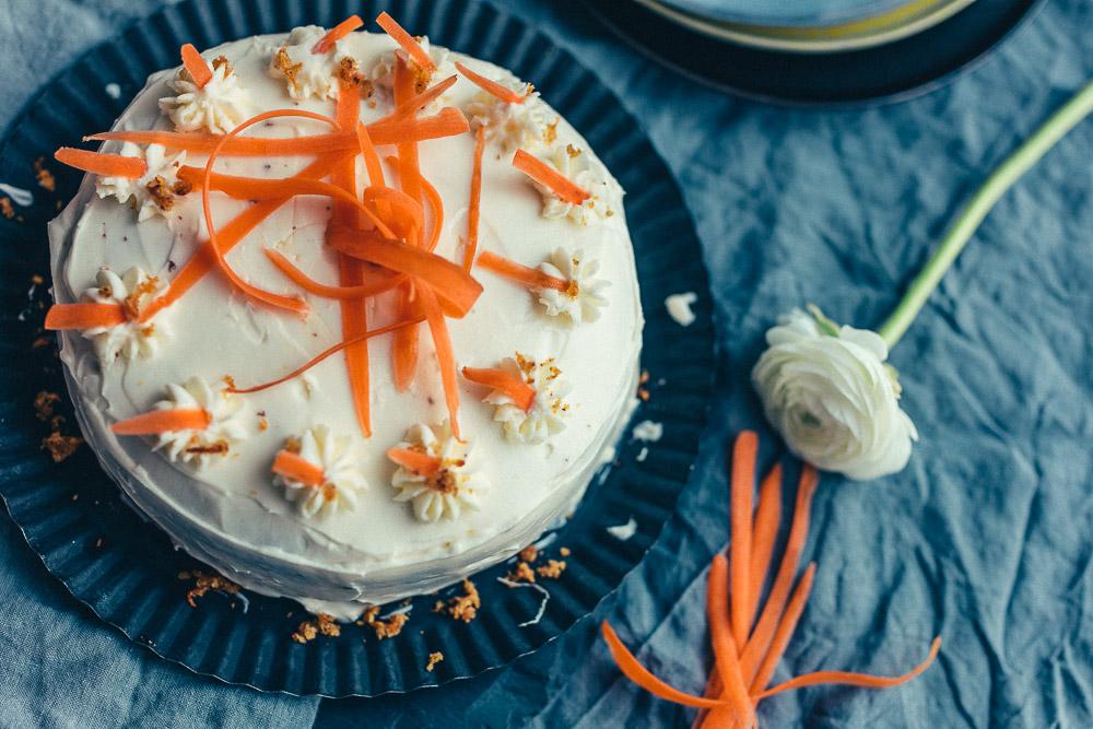 Gastbloggerrezept: Karottenkuchen von Butter & Zucker |we love handmade
