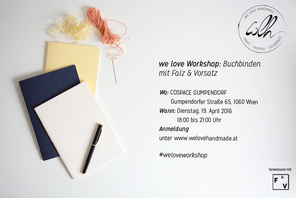 Buchbinden-Workshop | we love handmade