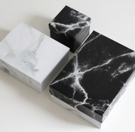 Upcycling-DIY: Marble-Boxen