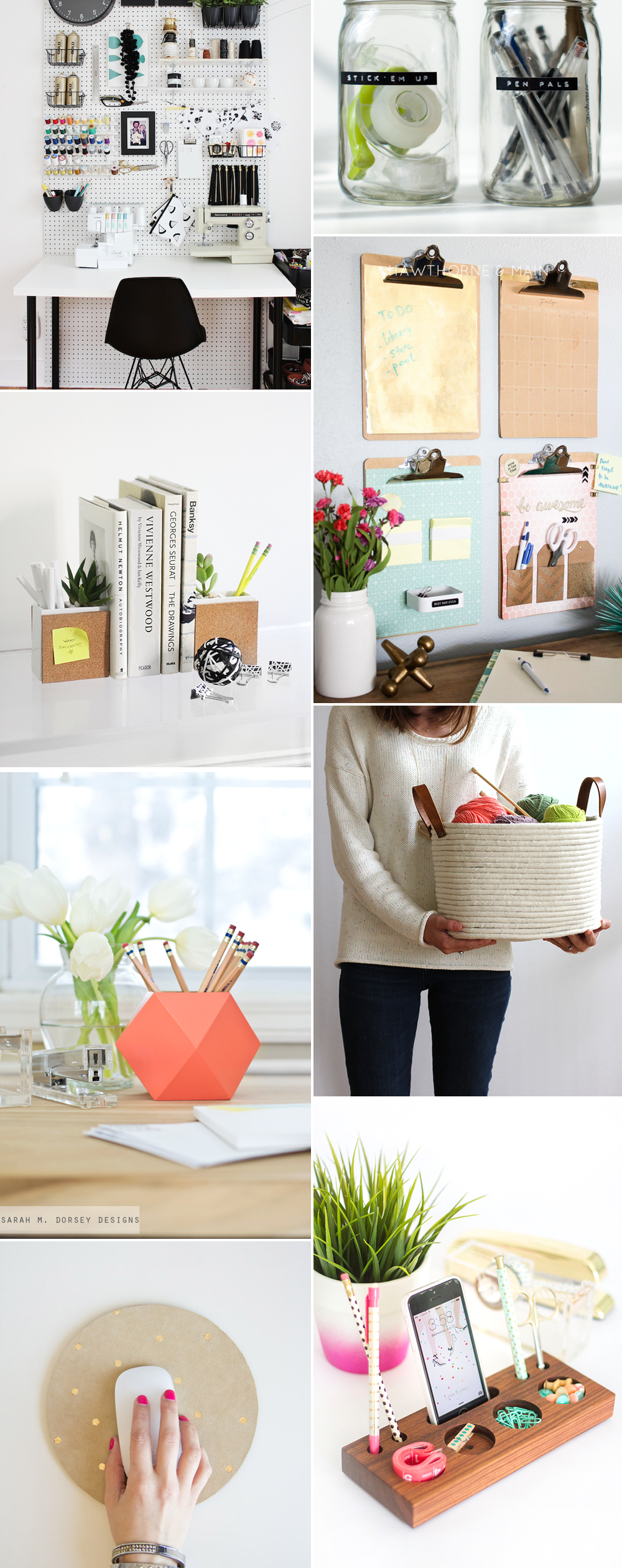 Office-Organizer-Ideen | welovehandmade