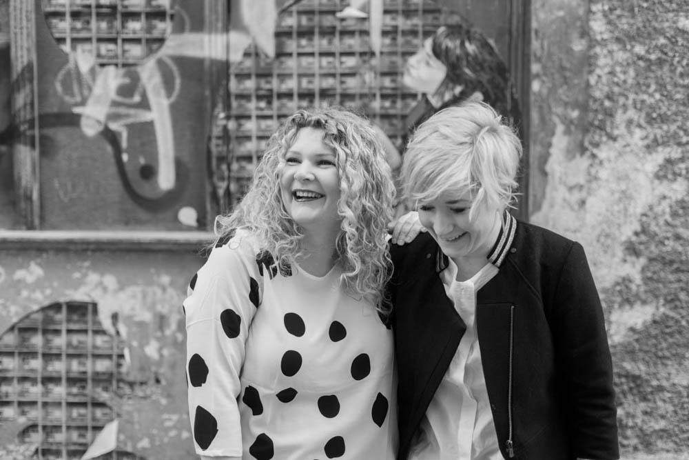 Caro Hubelnig und Sonja Winkler |(c) Fabienne Roth Photography