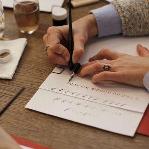 we love handmade Kalligraphie Workshop 11