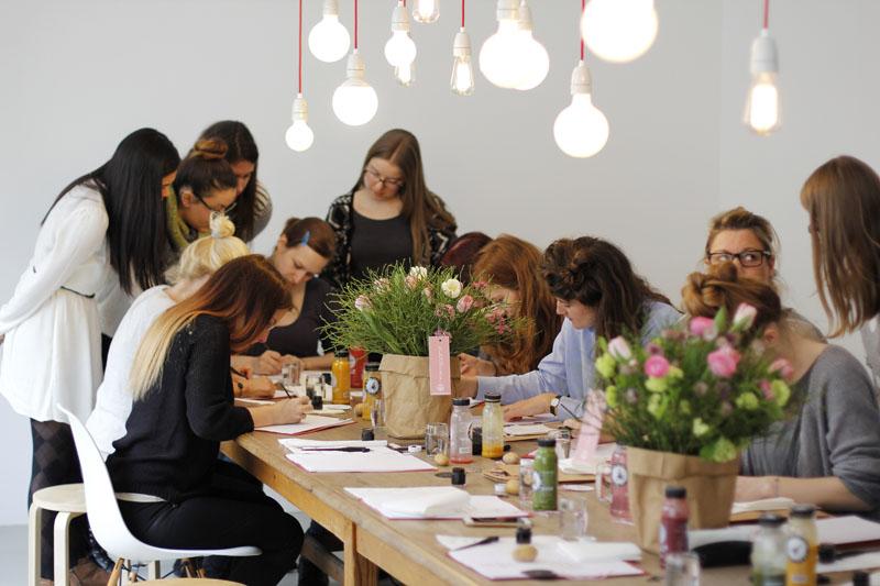 we love handmade Kalligraphie Workshop 5