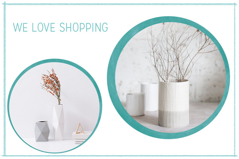 we love Shopping: Handgemachte Vasen | we love handmade