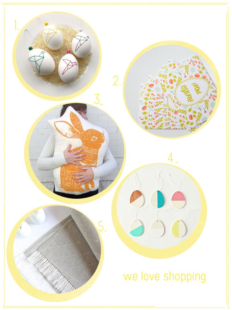 weloveshopping: Ostern 2016 |we love handmade