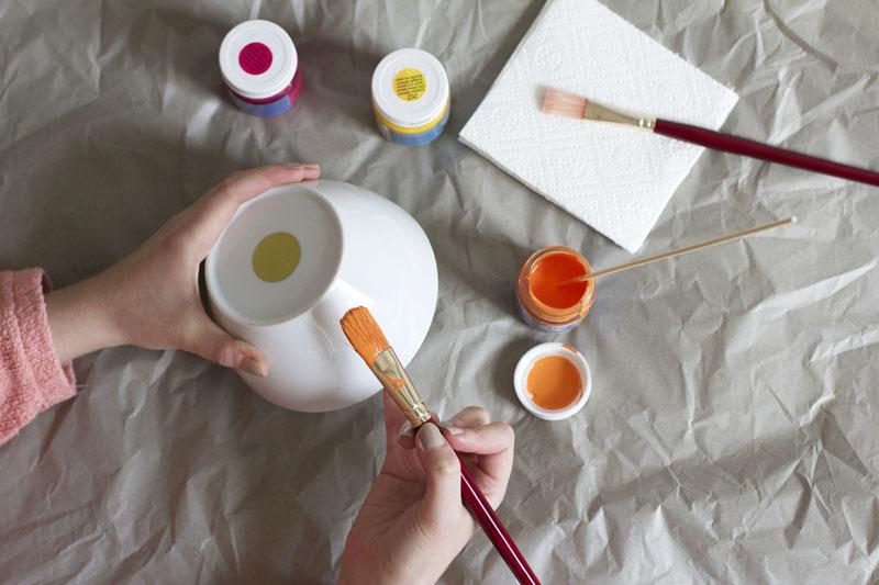 Schüssel mit Strichen |we love handmade