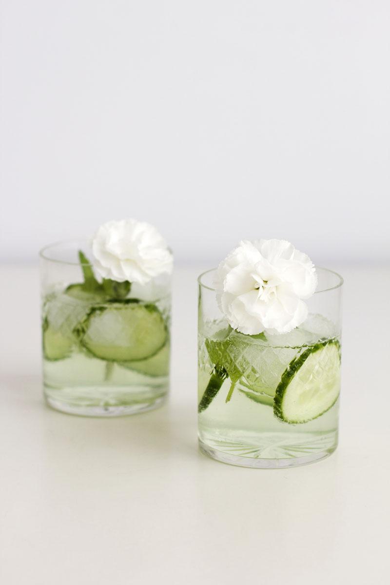 Blumen-Cocktailstäbchen | we love handmade