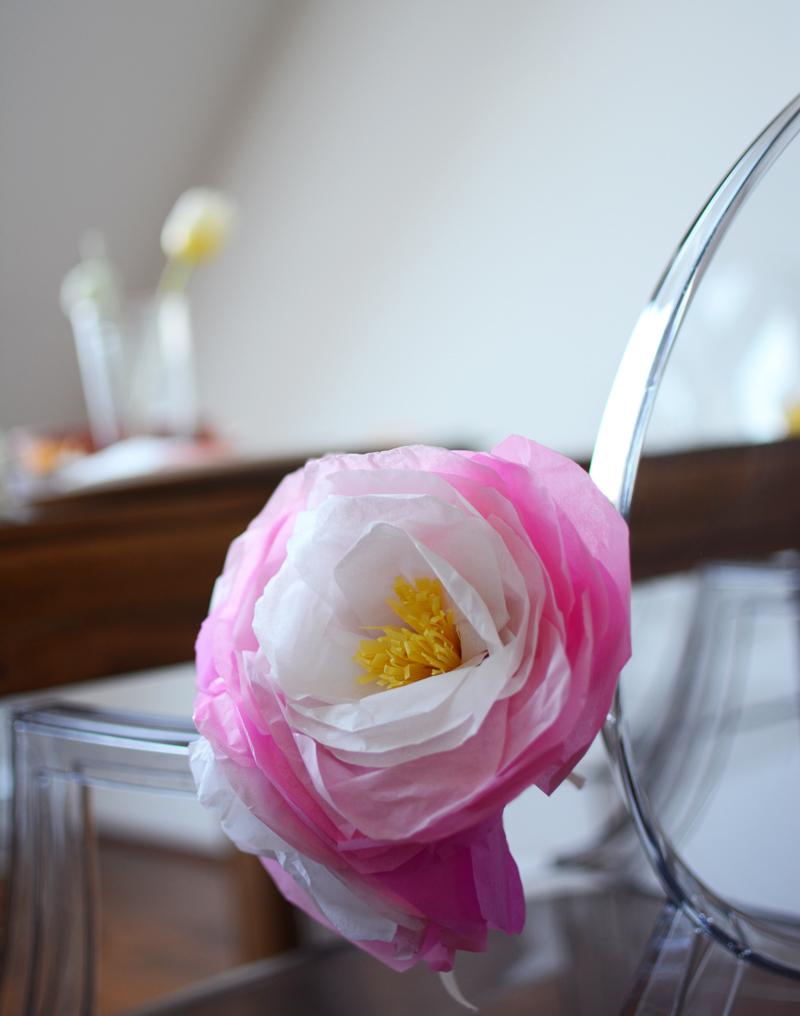 Seidenpapierblumen DIY|we love handmade