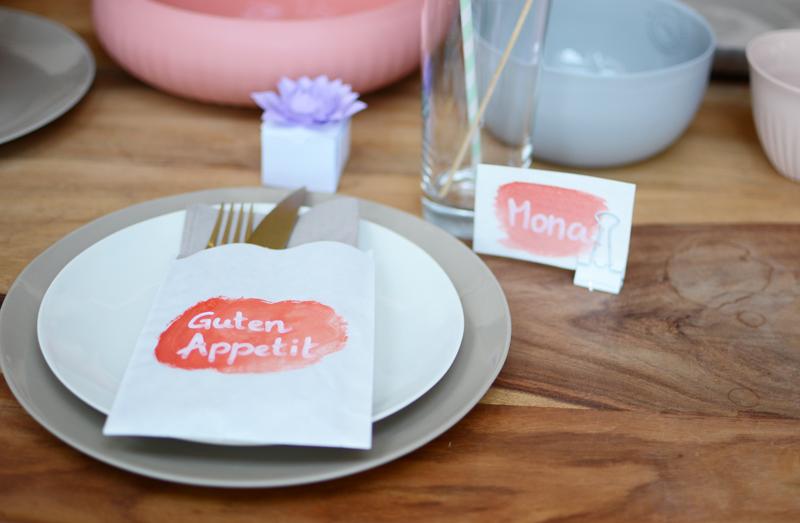 Tischdeko |we love handmade