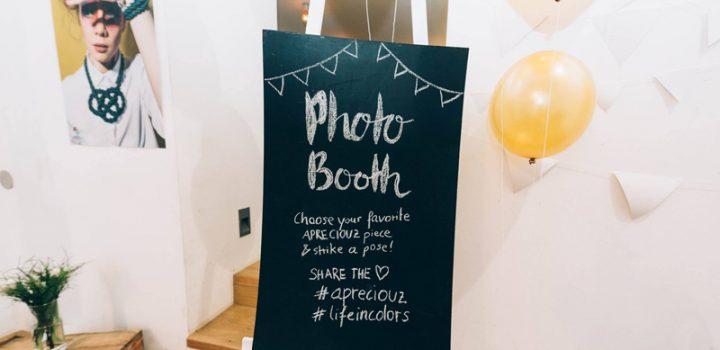 DIY: Photo Booth Hintergrund in Gold & Weiß