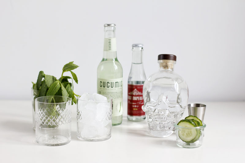 Gurken-Vodka-Cocktail | we love handmade