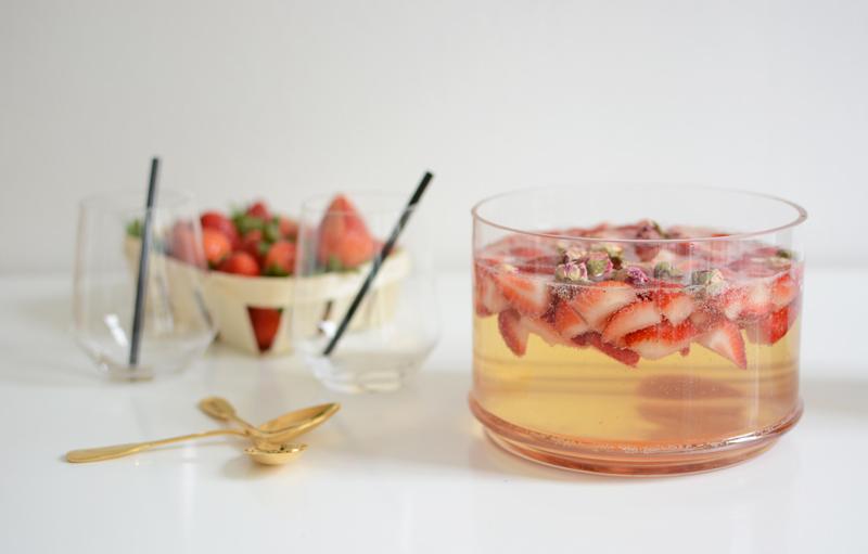 Erdbeer-Bowle-DIY |welovehandmade