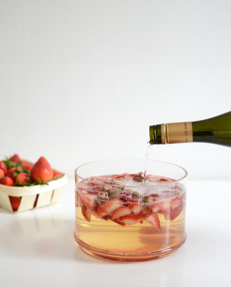 Erdbeer-Bowle-Rezept |welovehandmade