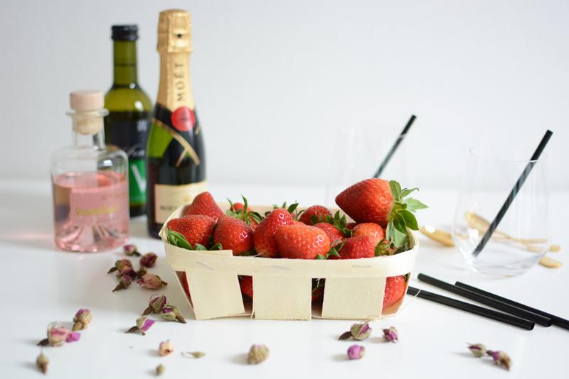 Erdbeer-Bowle Zutaten| welovehandmade
